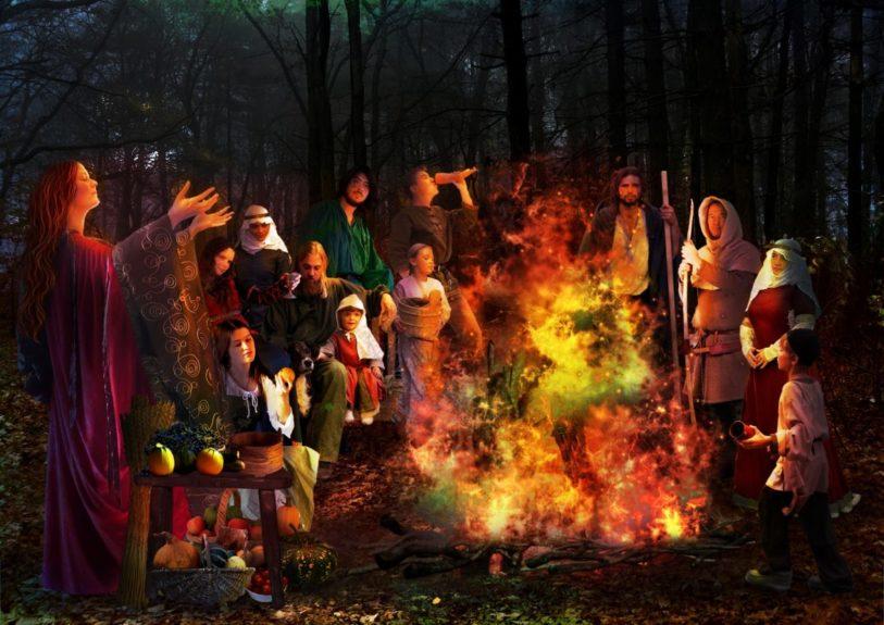 Праздник Сайман у древних кельтов