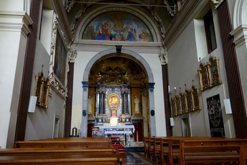 Обновленная церковь в Костаньевице