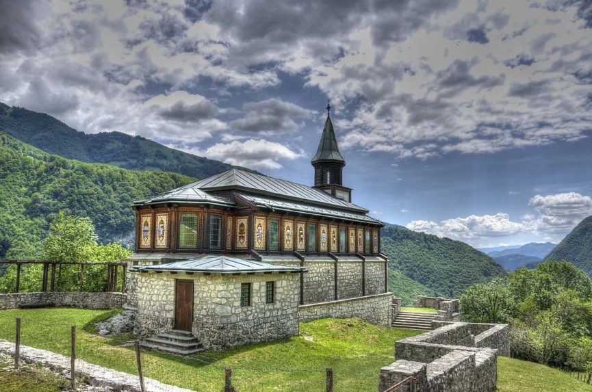 Вид с панорамной террасы церкви святого Духа