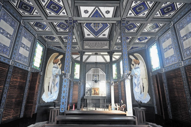 Церковь св. Духа на Яворце внутри