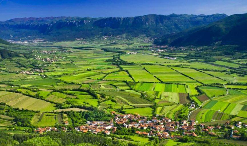 Випавская долина на фото