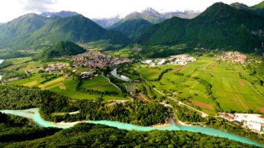 Юлийские Альпы, долина реки Соча