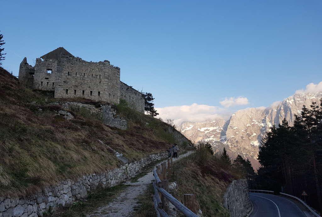 Остатки форта на перевале Предел