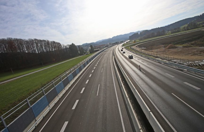 Автодороги в Словении