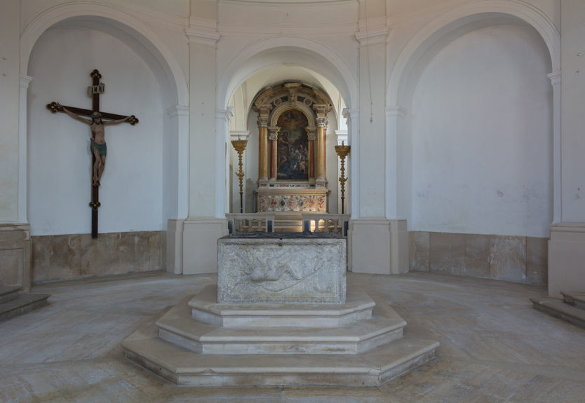 Баптистерий собора Святого Юрия в Пиране