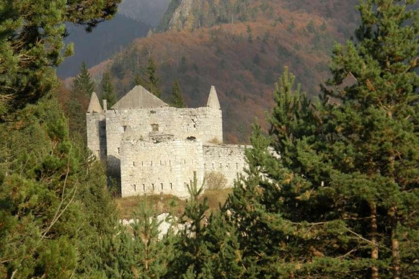Форт Предел в Юлийских Альпах