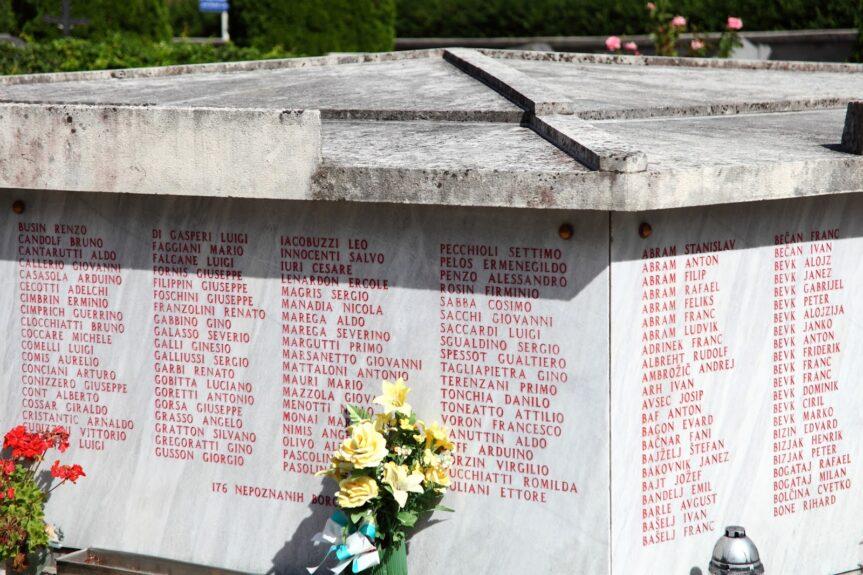 Партизанская могила в Церкно