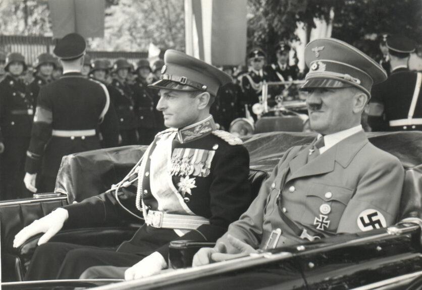 Принц-регент Королевства Югославии и Гитлер