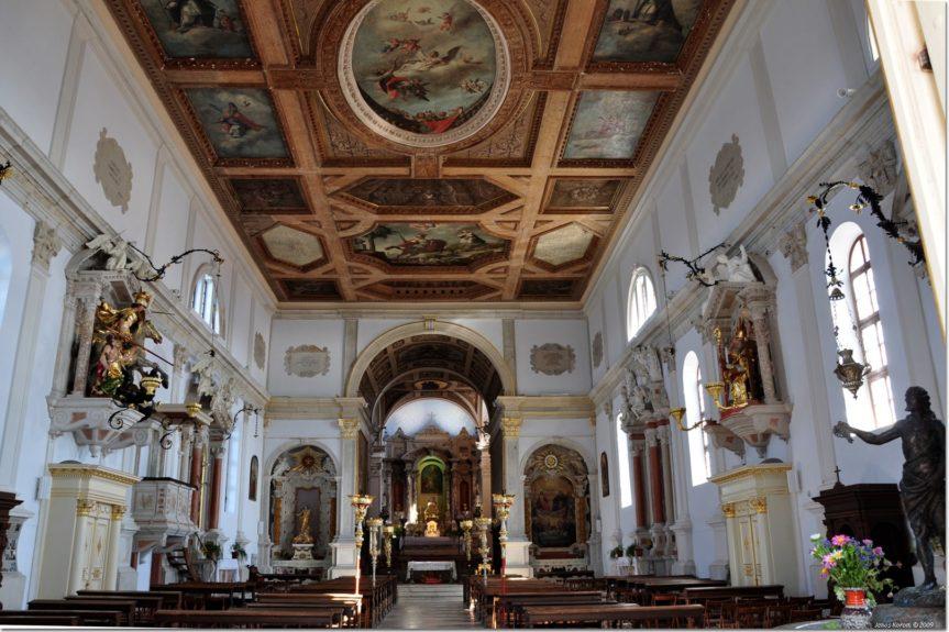 Пиранский собор Святого Юрия внутри