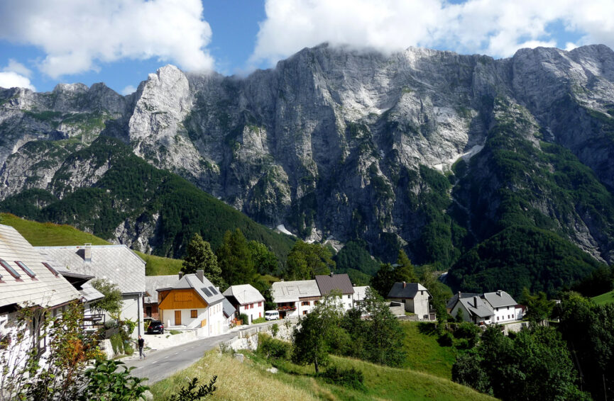 Деревня Стрмец на Пределе