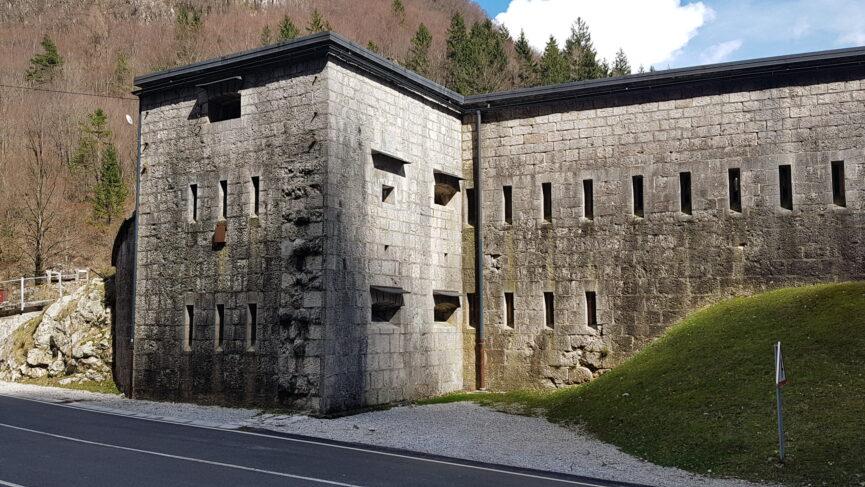 Форт Клуже, ворота в долину Бовец