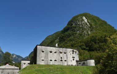 Форт Клуже, ворота в Бовец