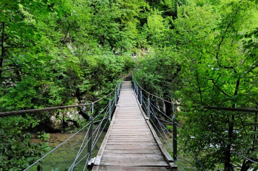 Словенский ландшафтный парк Верхняя Идрийца