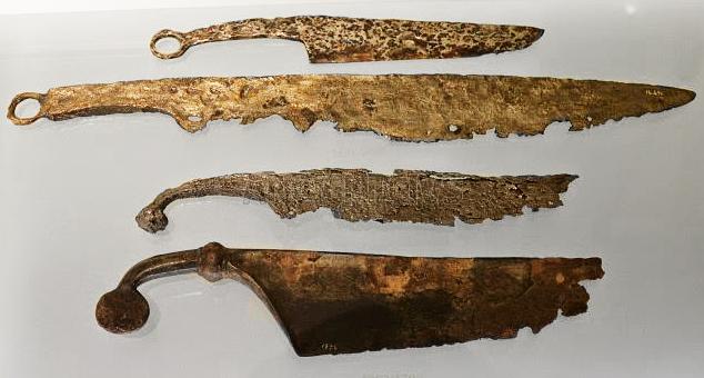 ножи, Королевство Норик, 300-15 гг. до н. э.