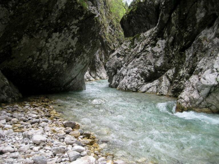 Река Коритница, форт Клуже