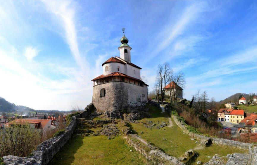 Малый замок и часовня св.Элигия