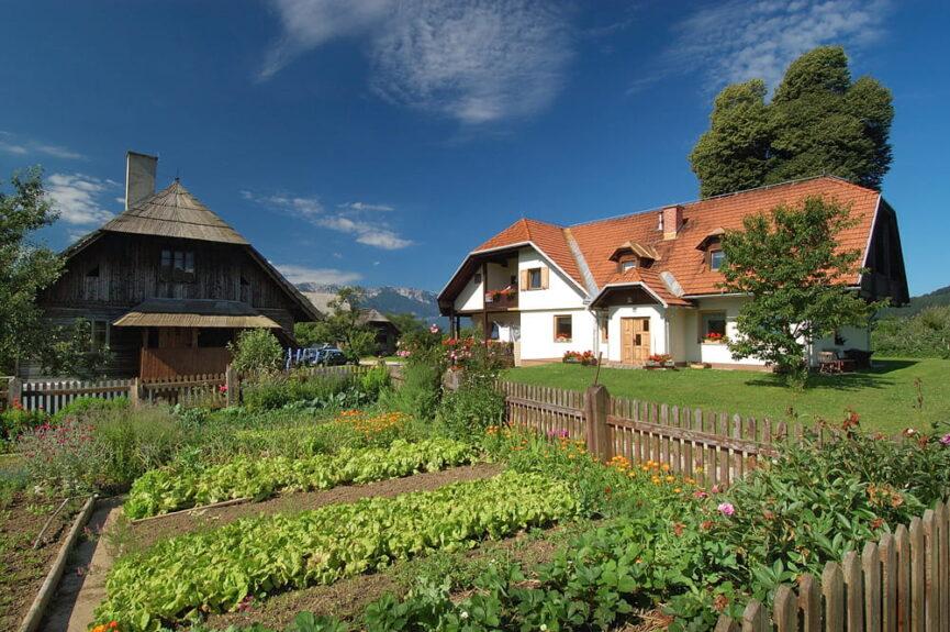Словения, туристическая ферма