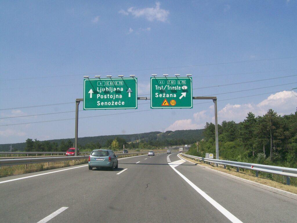 Словенские автомагистрали