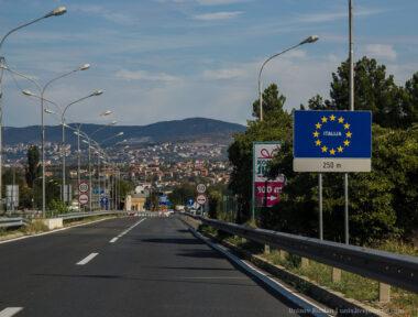 Граница Словении с Италией