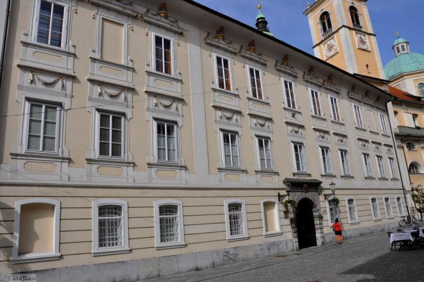 Епископский дворец в Любляне 1512