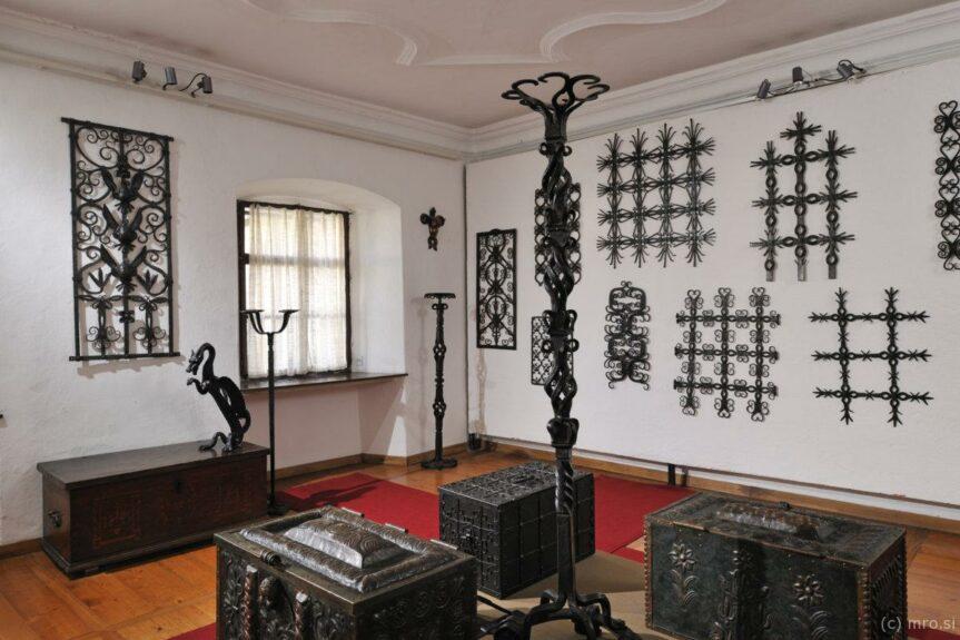 Экспонаты музея Кропы
