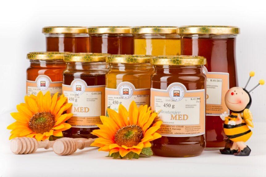Мед в Словении