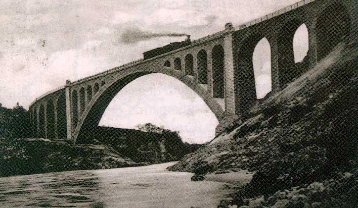 Солканский мост с пятью арками