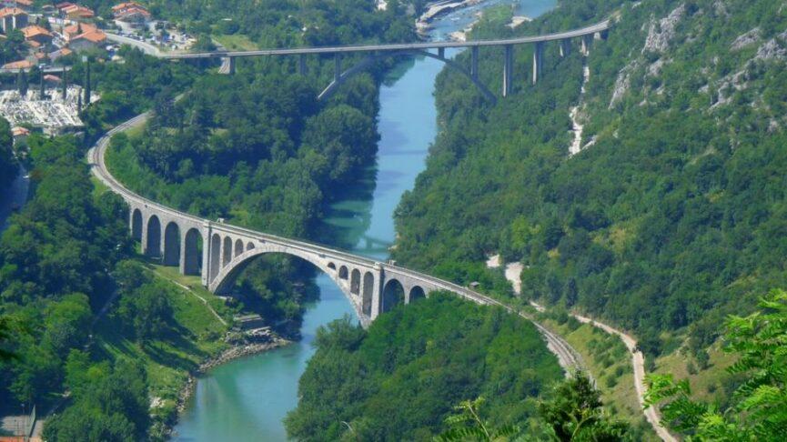 Солканский мост с соседом