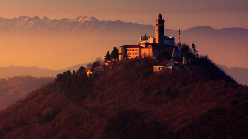 Святая гора и базилика Марии божьей матери