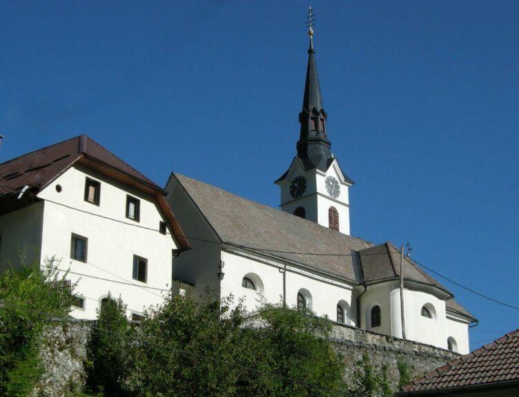 Церковь св. Леонарда в Кропе