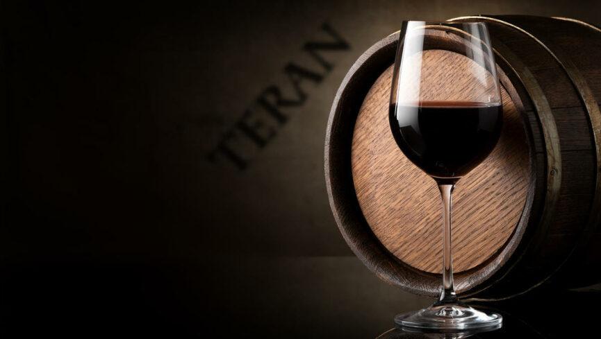 Словенское вино Теран