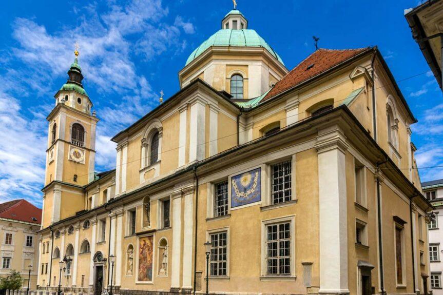 Кафедральный собор в Любляне