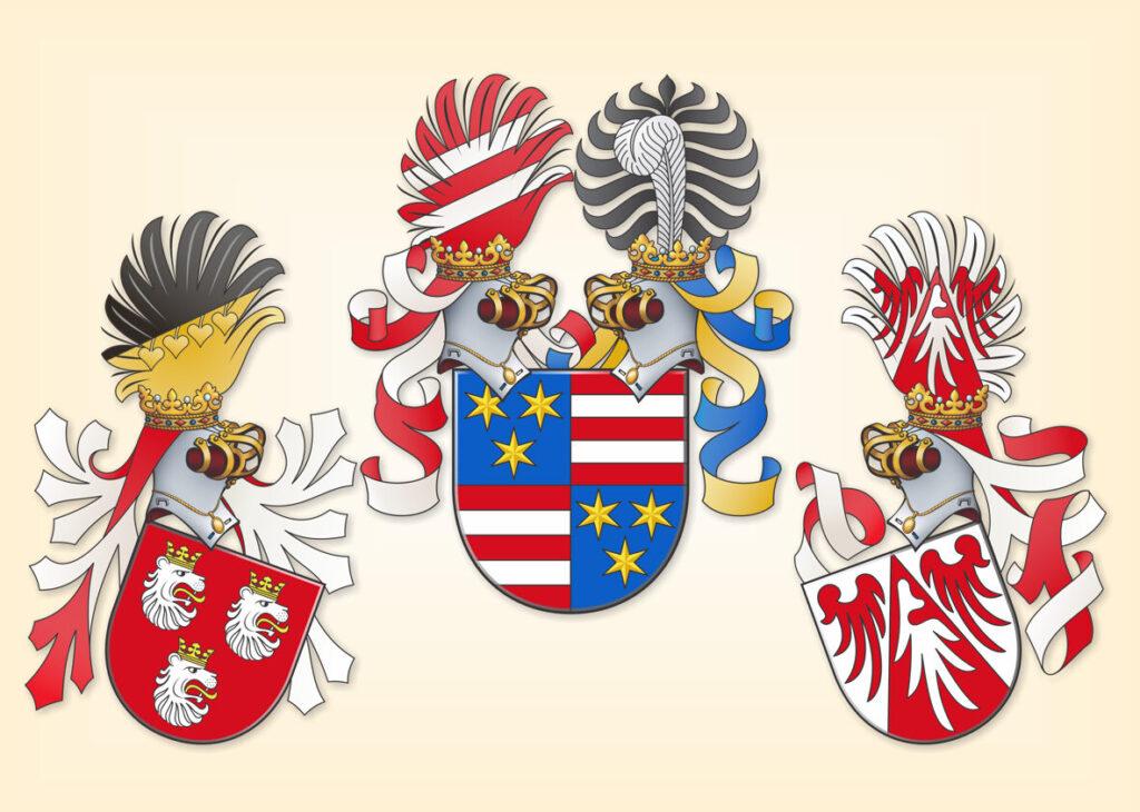 Герб графов Целье