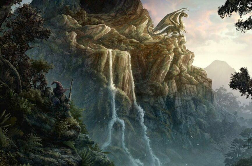 Драконы в Логарской долине