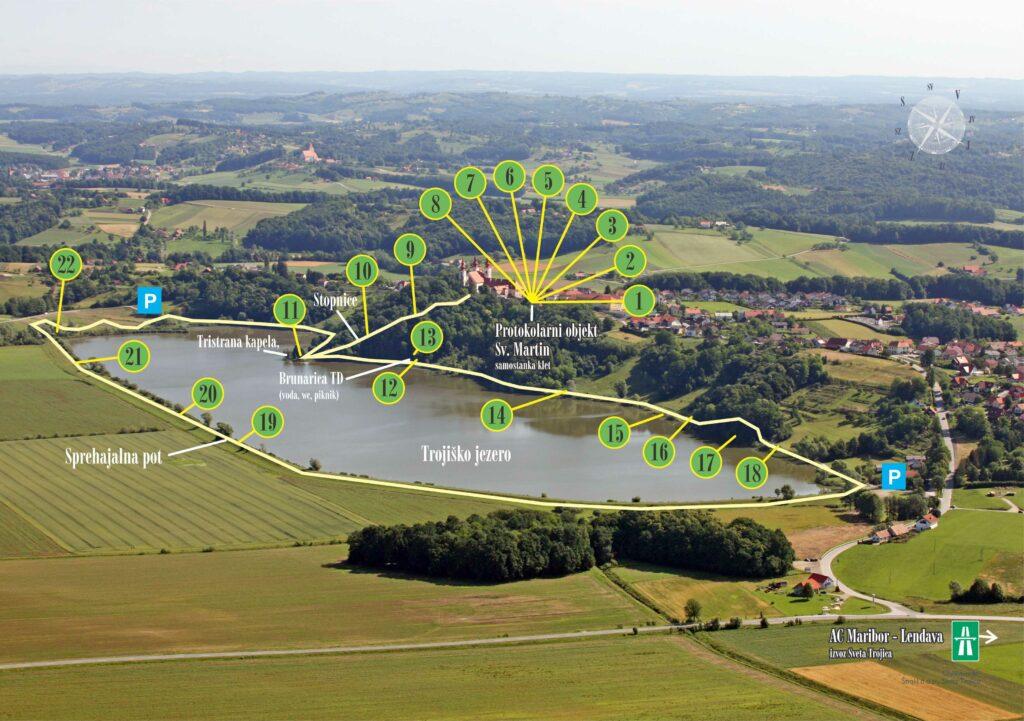 Целебный парк Святая Троица в Словенских горицах