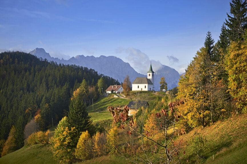 Деревня Подолшева и церковь св.Духа