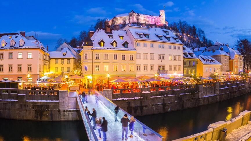 Рождественская ярмарка в Словении