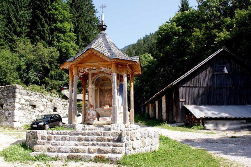 Деревянная часовня у Анковой домачии (Ankova domačija)