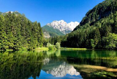 Планшарское озеро в Езерском