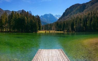 Планшарское озеро в Езерско