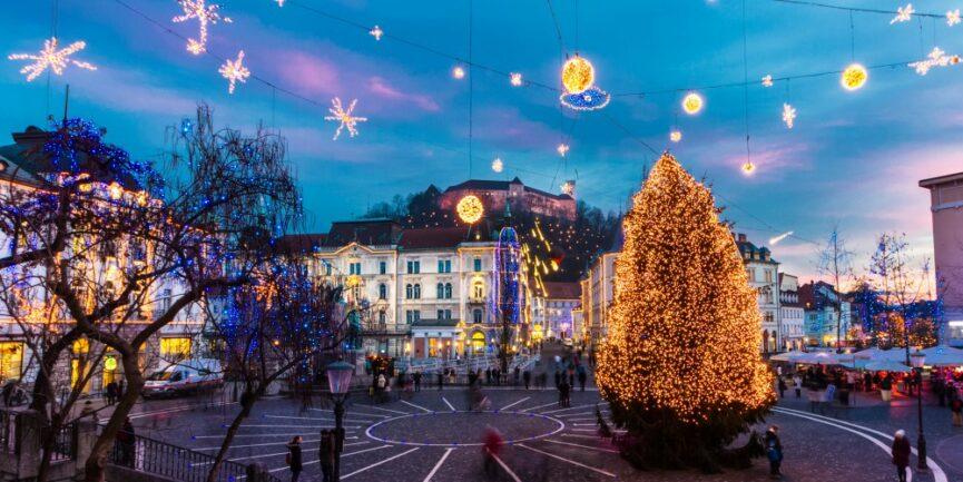 Сильвестрование в Любляне