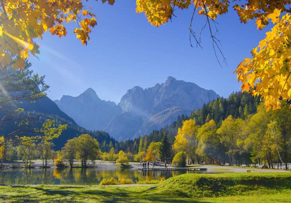 Словения, озеро Ясна