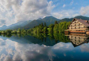 Озеро Чрнава в Преддворе