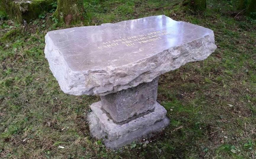 Княжеский стол в ущелье Предасель