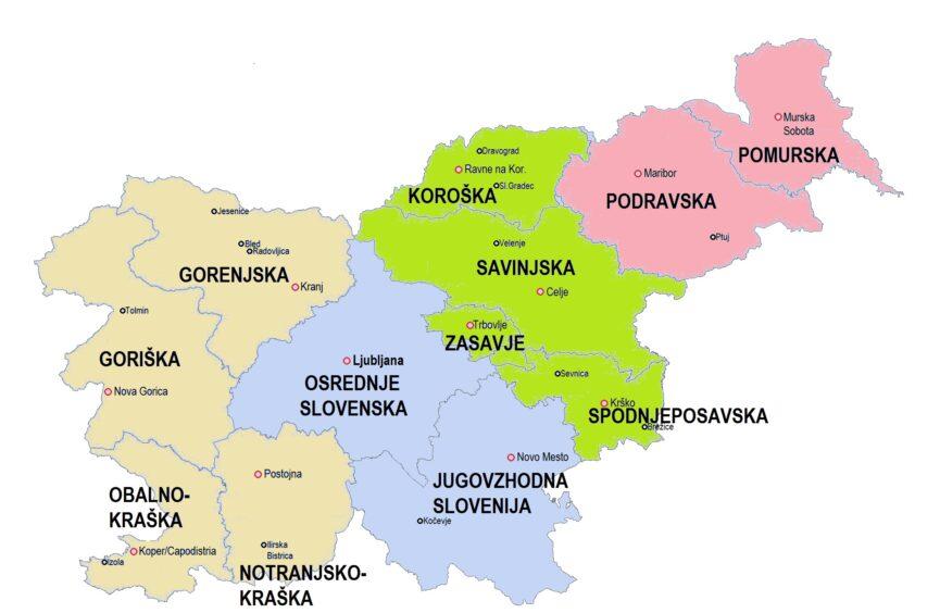 Статистические регионы Словении