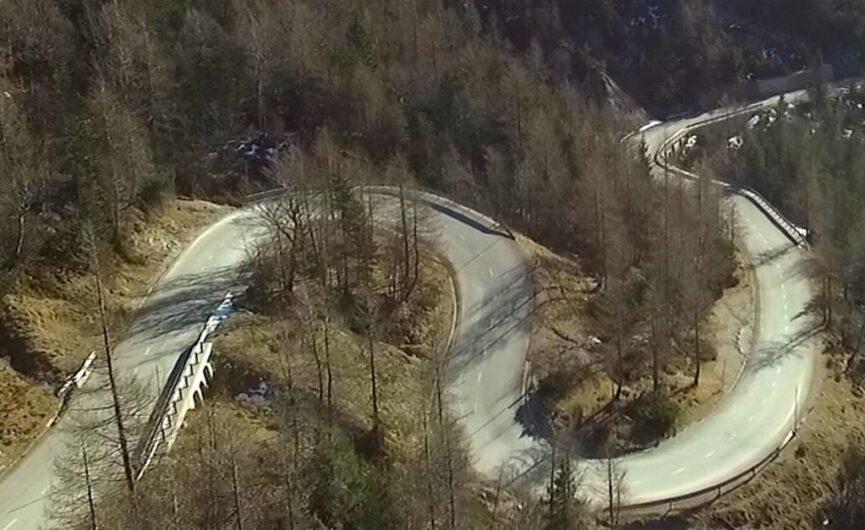 Русская дорога на перевал Вршич