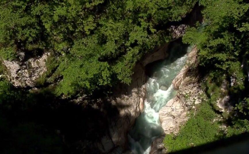 Большой каньон реки Коритница