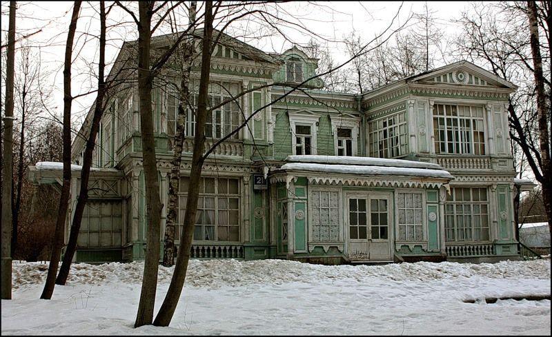 Дача в Сокольниках XIX век