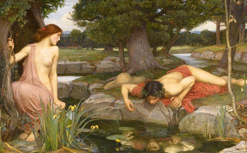 Нарцисс и Эхо, мифология