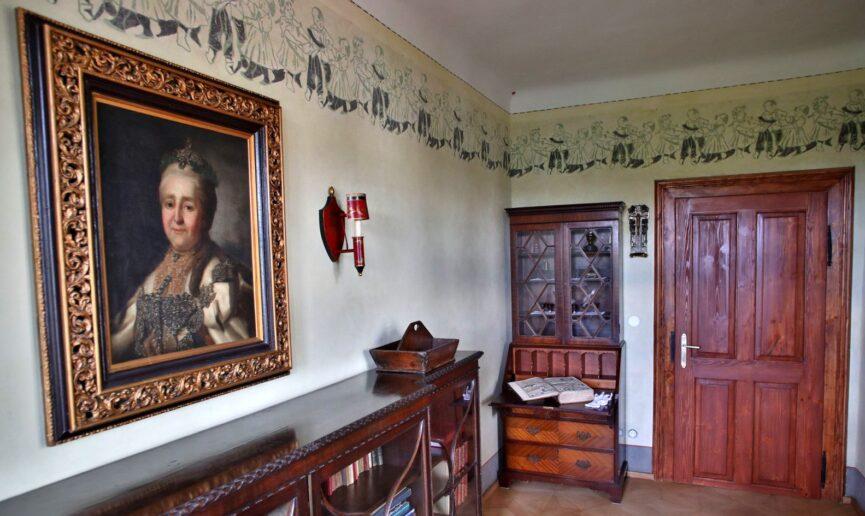 Картина с изображением Екатерины Великой